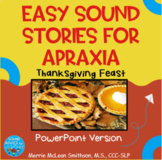 Nice and Easy Sound Stories: Thanksgiving Feast  NO PREP