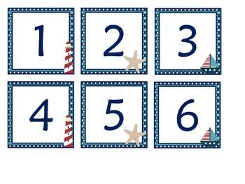 Nicely Nautical Calendar Set