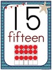 Nicely Nautical Number Poster Set