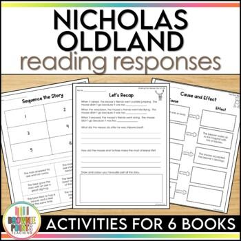 Nicholas Oldland Author Study