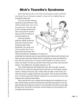 Nick's Tourette's Syndrome (Lexile 700)