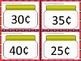 Nickel Coin Cup Matching Task Cards 5-50 Cents