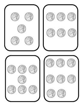 Nickel Game Cards