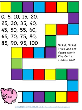 Nickel Money Games- Race to the Bank and Concentration