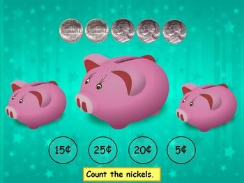 Money Nickel PowerPoint Game
