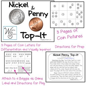 Nickel & Penny Top It