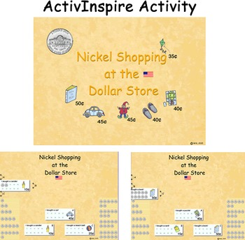 Nickel Shopping in the Dollar Store (US) ActivInspire