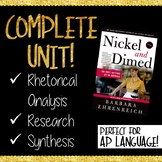 Nickel and Dimed Unit BUNDLE