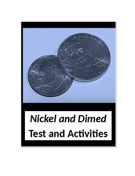 Nickel and Dimed by Barbara Ehrenreich Test and Activities