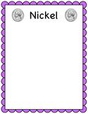 Nickel sorting mat (coin sorting mats)