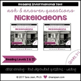 Nickelodeons • Reading Comprehension Passages and Questions • RL I & II