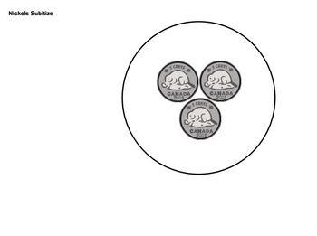 Nickels Subitizing - Smart Notebook File