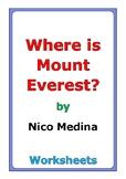 "Nico Medina ""Where Is Mount Everest?"" worksheets"