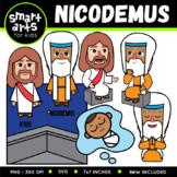 Nicodemus Clip Art