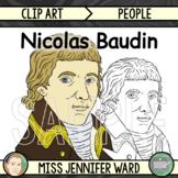 Nicolas Baudin Clipart