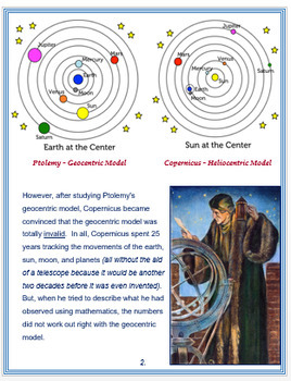 Nicolaus Copernicus + Assessment