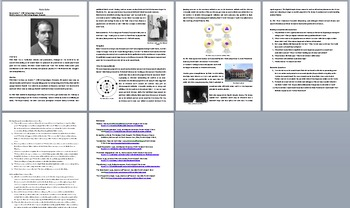Niels Bohr - A Famous Scientist Reading