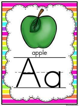 Nifty Neon  Classroom Décor Poster Bundle
