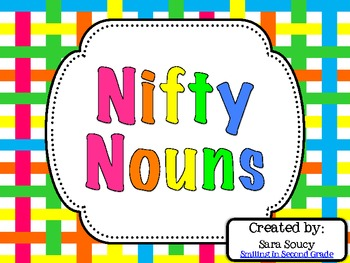 Nifty Nouns {Freebie}