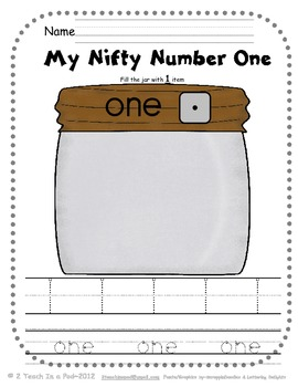 Nifty Number Book 0-20