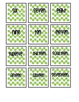 Skip Counting - a Beginning Number Packet