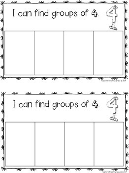 Nifty Numbers 1-10 --- Interactive Number Book #4 ***FREEBIE***