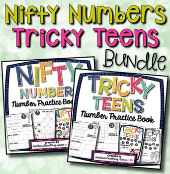 Nifty Numbers Book / Tricky Teens Number Book ***BUNDLE***