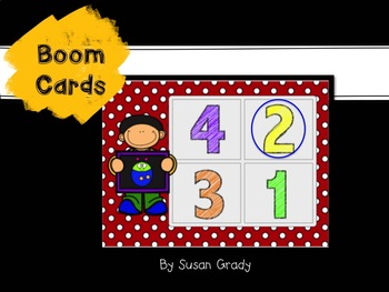 Nifty Numbers Boom Cards