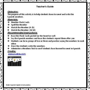 Numeros (0-50)
