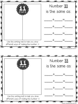 Nifty Numbers 1-10 / Tricky Teen Numbers 11-20 - Interactive Number Books BUNDLE