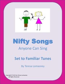 Music Nifty Songs: Twenty Original Songs Anyone Can Sing