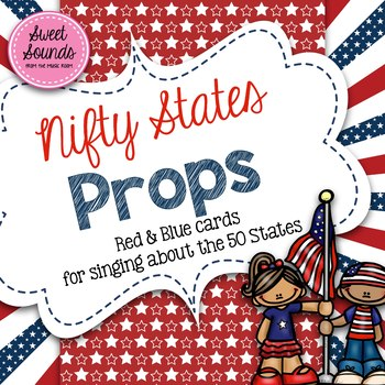 Nifty States Props - Cards for Singing the 50 States