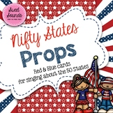 Nifty States Props - Patriotic Cards for Singing the 50 States