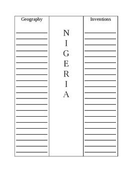 Nigeria Brochure Template