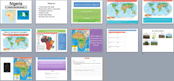 Nigeria Case Study Grade 3 PowerPoints Lessons 1-5