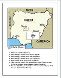 Nigeria Map Activities