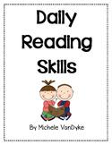 Daily Reading Skills Homework