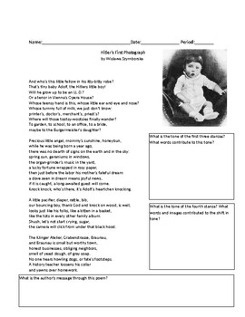 Night - 3 Extension Poems with Questions / Activities
