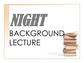 Night Background Lecture