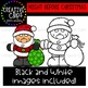 Night Before Christmas: Christmas Clipart {Creative Clips Clipart}