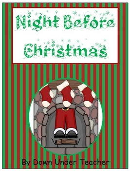 Night Before Christmas Fry's Sight Word Phrases board game