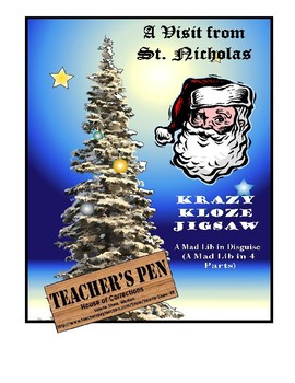The Night Before Christmas Krazy Kloze Jigsaw: A Mad Lib in Disguise