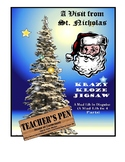 The Night Before Christmas Krazy Kloze Jigsaw: A Mad Lib i