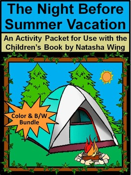 End of Year Activities: Night Before Summer Vacation Bundle