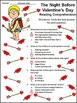 Valentine's Day Reading Activities: Night Before Valentine's Day Activity Packet