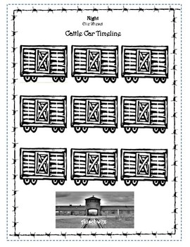Night - Cattle Car Timeline - Section 1