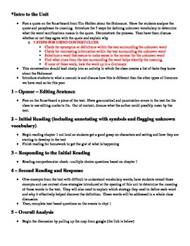 Night Chapter 1 Lesson Plan