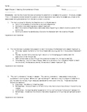Night Chapter 1 Multiple Choice Questions