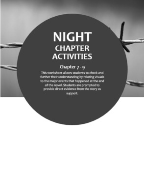 Night--Chapter 7 - 9 Group Work