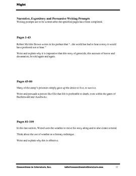 Night-Reading Literature Guide
